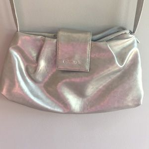Shimmery Calvin Klein mini bag/purse